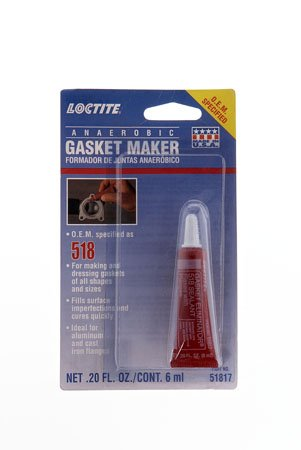 Loctite 518 51817 6ml Red Gasket Eliminator Tube