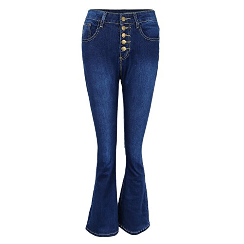 Prettyia S Fonc Clair XXL bleu au pour fonc P Bleu Jean vas Femme fxU8g8qn