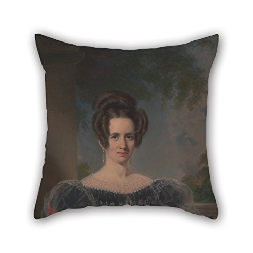 Oil Painting Thomas Phillips - Elizabeth Howard Pillow Shams 18 X 18 Inch / 45 By 45 Cm For Dance Room,living Room,drawing Room,bf,teens With Double Sides ()