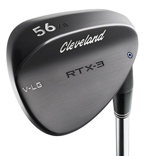 Cleveland Golf Men s RTX-3 VLG Low Bounce Wedge, Black Satin