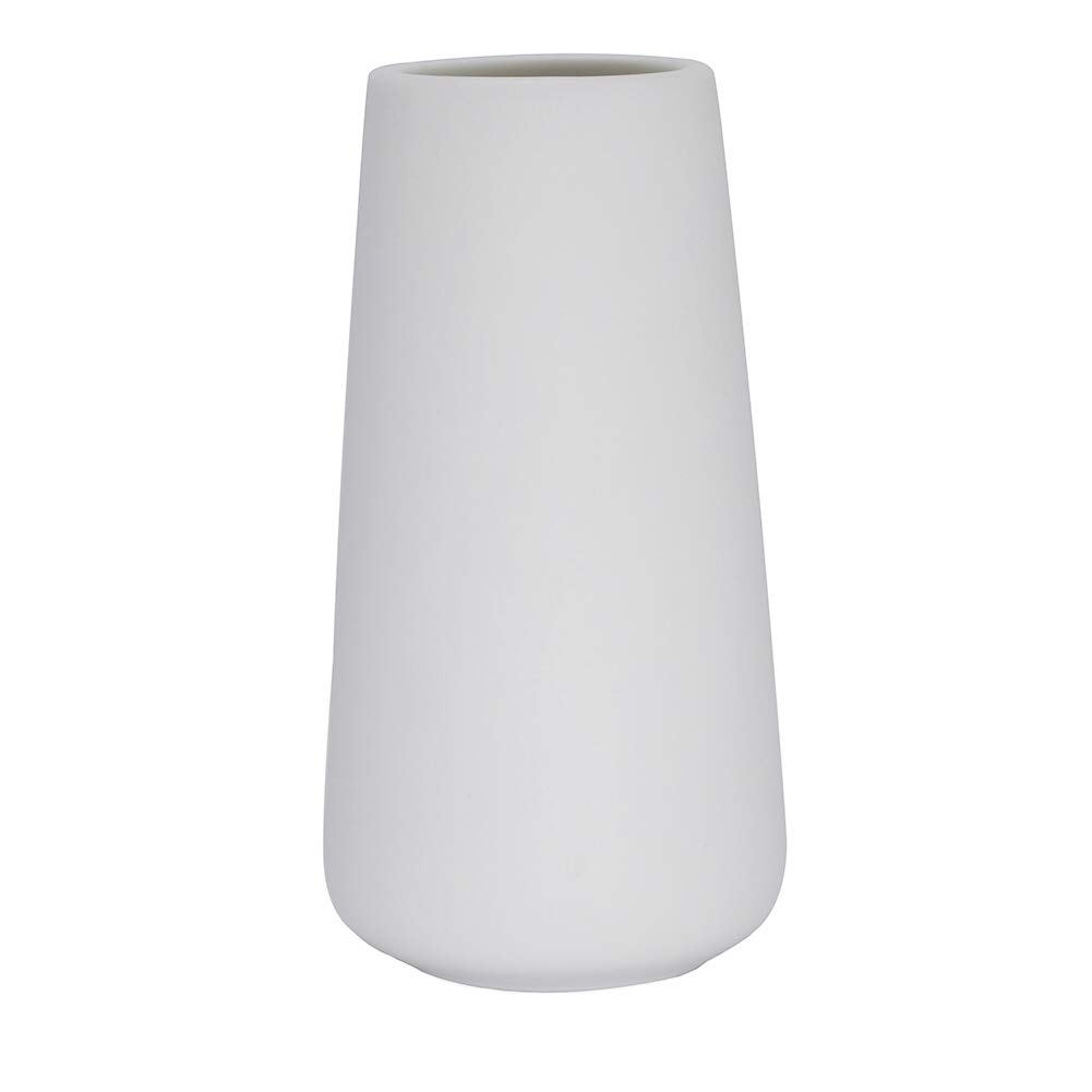 SZX White Ceramic Vases Minimalist Style Decoration for Home Office, Ideal Gifts For Friends & Family