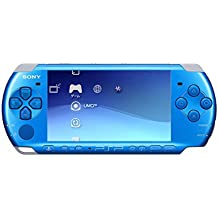Sony Playstation Portable (PSP) 3000 Series Handheld Gaming Console System - Blue (Renewed)