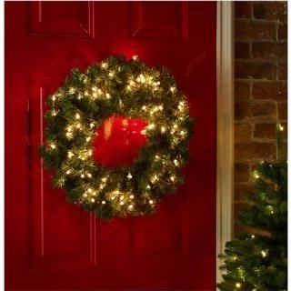 Good Looking Led Light Up Christmas Wreath Amazoncouk Kitchen Home