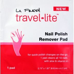 LA Fresh Nail Polish Remover Pad (case of 200) by La Fresh