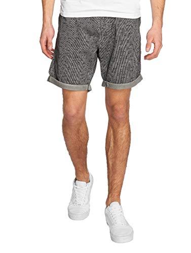 Homme y cortos Attitude pantalones Short Solid Gerry Grey Pantalones p7dw44