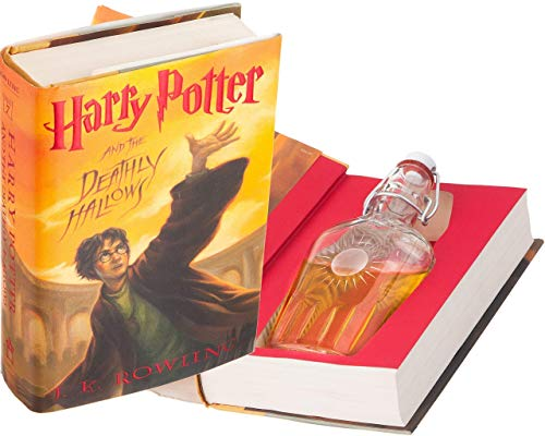 Flask Hollow Book - Harry Potter and the Deathly Hallows by J.K. Rowling (Magnetic Closure)