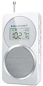 """Blaupunkt BD-21 - Radio (Portátil, Digital, FM, MW, 0,250W, 3,81 cm (1.5""""), LCD) Color blanco"""