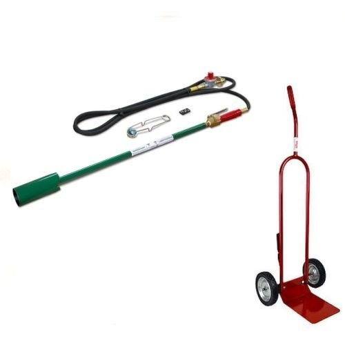 Weed Dragon 100,000 BTU Backpack Torch & Cart Combo