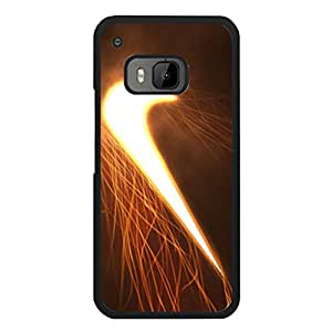 Glowing Shining Nike Cover Phone Case for Htc One M9 Brand Logo Series Custom Cover Case the Logo of Nike
