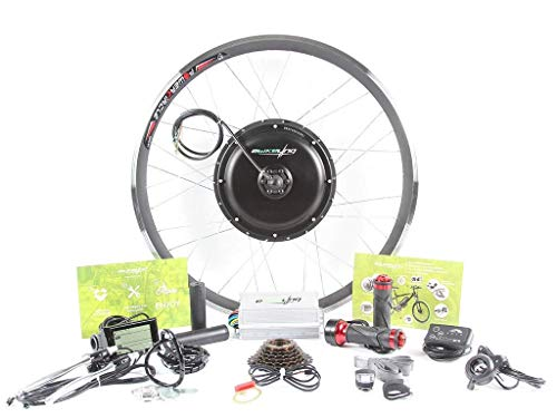 Lowest Price! EBIKELING 36V 500W Direct Drive Motor Front Rear Wheel 26 700C e-Bike Conversion Kit ...