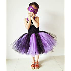 - 41bXG4hALqL - Tutu Dreams Halloween Tutu Dress for Girls