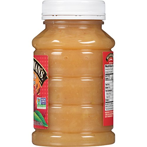 Musselman's Chunky Apple Sauce Plastic Jars, 24 Ounce (Pack of 12) by Musselmans (Image #3)