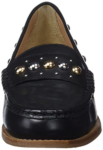 Bronx White 4 1402 UK Black Women's Black Loafers 01 Bx Bfrizox PwnpUPXqr