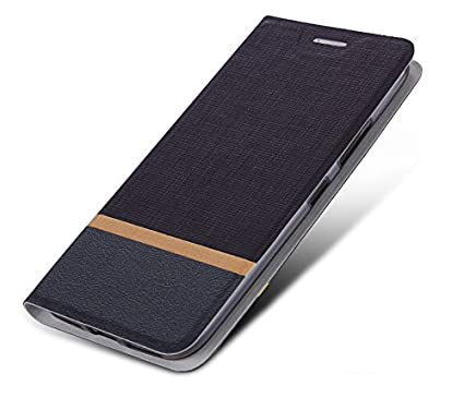 release date: 090cc 89403 Tarkan Luxury Xiaomi Mi A1 Flip Cover, Leather Textured Back Stand Case  with Card Slot [Brown]