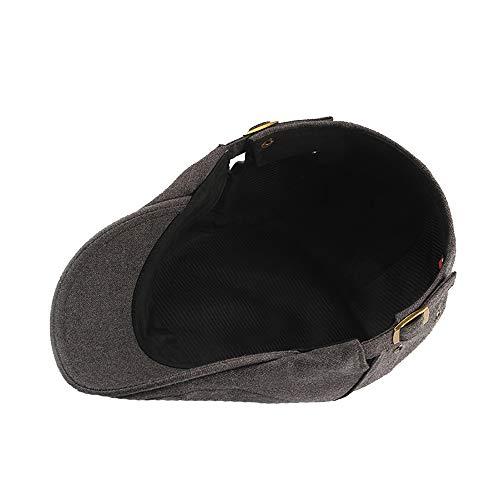Gorra Ajustable de algodón Unisex Gorra de Irlandesa Gatos de Ivy Duckbill Transpirable Gorra de fútbol Sombrero (Color : Brown, Size : Free Size): ...
