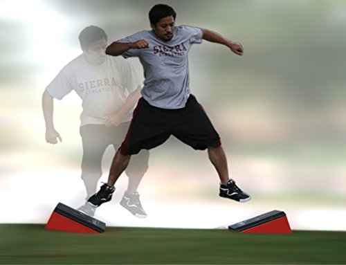 Plyometric Lateral Side Jump Angle Plyo Boxes - Set of 2 by Jump USA