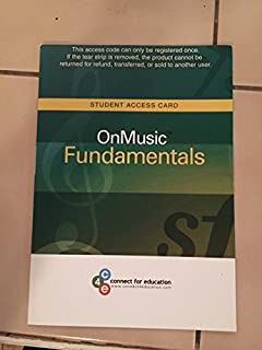 Onmusic fundamentals amazon music on music fundamentals student access card fandeluxe Image collections