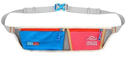 Schlanke Montage unsichtbar Taschen Marathon laufen Nacht läuft Geld Mobile Sporttasche