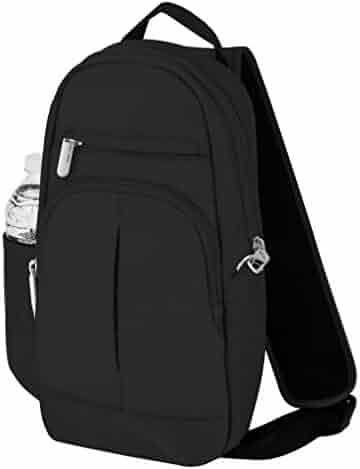 Travelon Anti-Theft Classic Lite Sling, Black