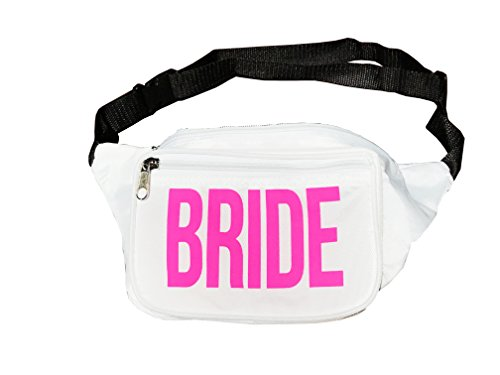 Final Fling Premium Bachelorette Party Fanny Pack - Perfect for the Bride Tribe and Wedding Bridal Party - Last Fling before the Ring Gift (BRIDE)