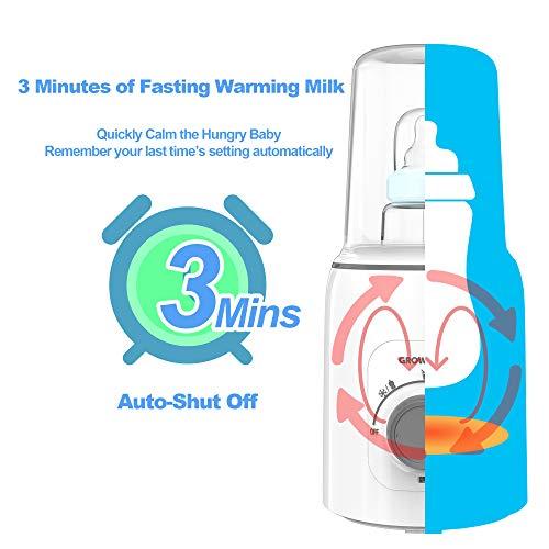 41bXIzFBtwL - Bottle Warmer, 5-in-1 Fast Baby Bottle Warmer And Sterilizer Baby Food Heater&Defrost BPA-Free Warmer For Breastmilk And Formula