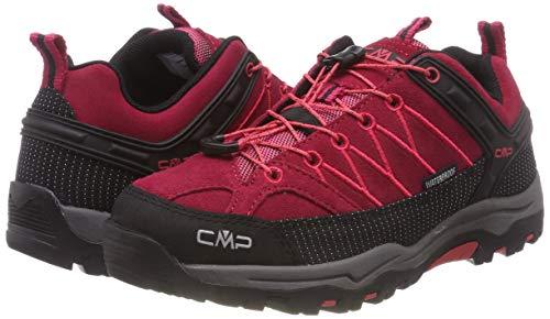 De Rigel Cmp Unisex Senderismo High Adulto 72bm Wp Zapatos Rojo Low corallo Rise granita adqwqI