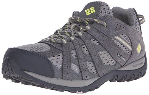 Columbia Women's Redmond Breeze Trail Shoe Light Grey/Sunnyside