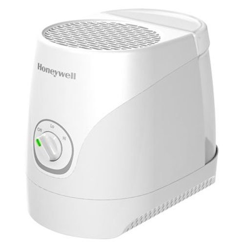 Honeywell oneywell Cool Moisture Humidifier White Ultra Quiet with Auto Shut-Off, Variable Settings & Wicking Filter for Small to Medium, Bedroom, Baby Room, 1,