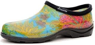 product image for Sloggers 5102BL09 Women's Garden Shoe, Blue Print Rubber, Size 9 - Quantity 12