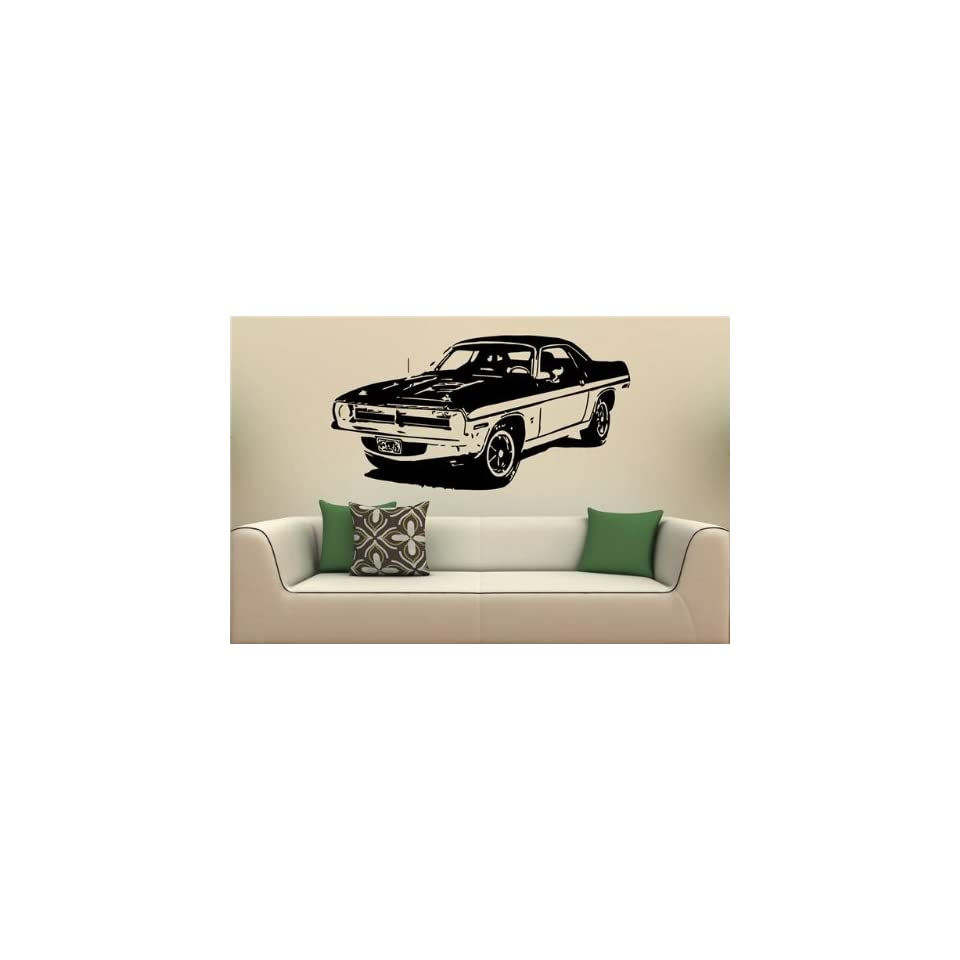 Wall Mural Vinyl Decal Stickers Car Plymouth Barracuda 1970 S2086