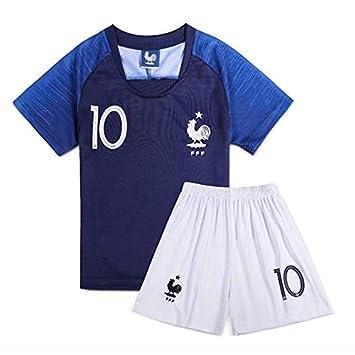 Uniforme de la Copa del Mundo 2018 HZL con el nombre «Kylian Mbappé» y