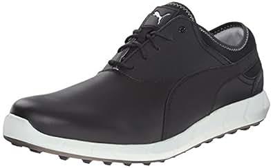 Puma Ignite Golf Men's Shoes-Hybrid-Black/Glacier Gray-Size 7-Medium
