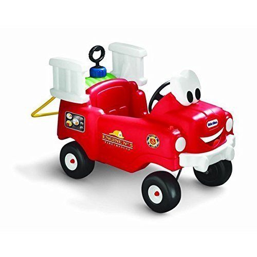 Little Tikes Toy Vehicles Spray & Rescue Fire Truck