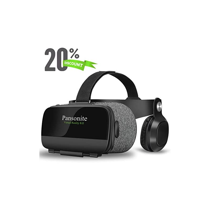 Pansonite Virtual Reality Headset with H