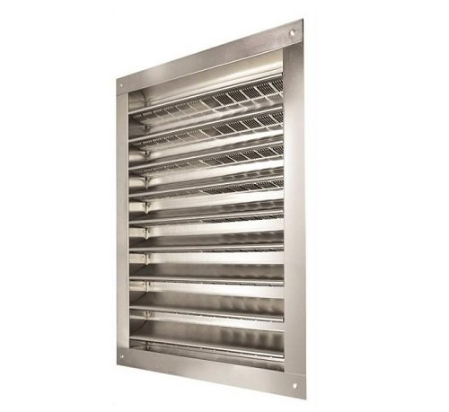 louvered gable vent - 3