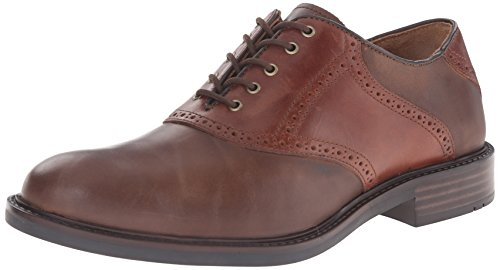 n's Tabor Saddle Oxford, Brown Oiled Nubuck/Mahogany Pull Up, 12 M US ()