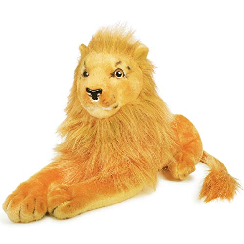 VIAHART Lasulu The Lion | 17 Inch (Excluding The Tail!) Stuffed Animal Plush Cat | by Tiger Tale Toys