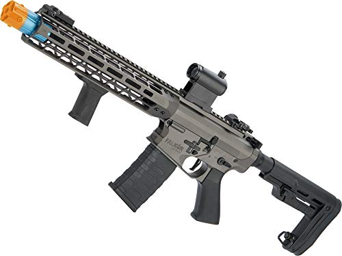 Evike EMG Falkor AR-15 Blitz SBR M4 Airsoft AEG Rifle (Color: Falkor Grey / ~400 FPS)