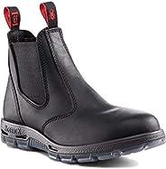 Redback Boots Bobcat Soft Toe Boot Claret - Men&#