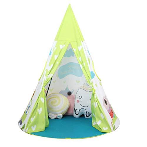 AIBAB Tienda para Niños Princesa Castillo Indoor Baby Toy Casa Pequeña Casa De Juego Infantil Indio Plegable Portátil