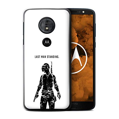 eSwish Phone Case/Cover for Motorola Moto G6 Play 2018 / Last Man Standing Design/PUBG Video Gaming Collection