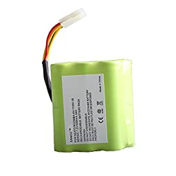 SANCC™ 2 Pack 7.2V 4000Mah Neato XV Series Replacement Battery for Neato XV-11, XV-12, XV-14, XV-15, XV-21, XV-25, XV Essential, XV Signature and XV Signature Pro