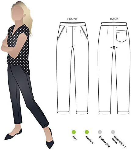 - Click for Other Sizes Available Sadie Pant Sizes 04-16 Style Arc Sewing Pattern
