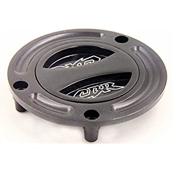 HTT Group Motorcycle Black Keyless Gas Cap Twist Off Fuel Tank Cap For Honda CBR 600 F2/F3/F4/F4i/ 600RR/ 900RR/929RR/954RR/1000RR/RVF 400