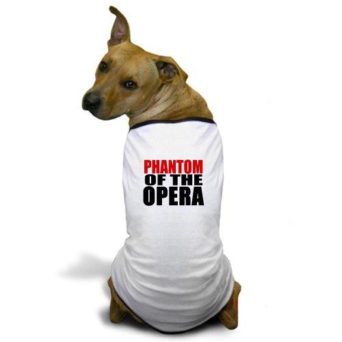 [CafePress - Phantom of the Opera Dog T-Shirt - Dog T-Shirt, Pet Clothing, Funny Dog Costume] (Custom Phantom Of The Opera Costumes)