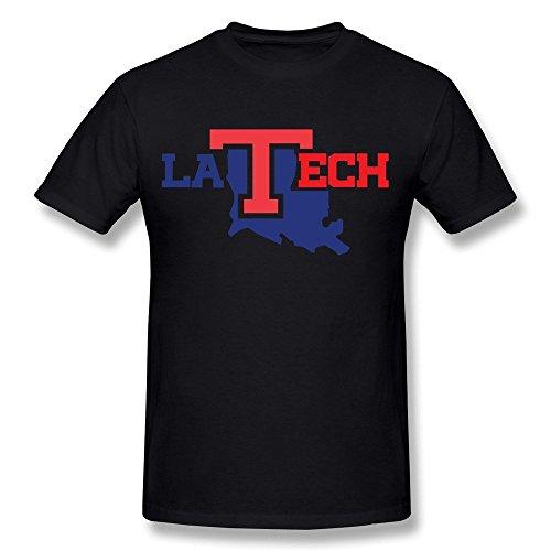 Kazzar Men's Louisiana Tech University Logo Art T Shirt XL