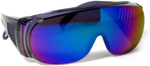 Rodeo M3 Fit Over Prescription Rx No Blind-spot Driver Day & Night Wrap Around Sun Glasses