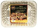 BBQ All-Purpose Foil Pan 16.5-inch, Set of 6