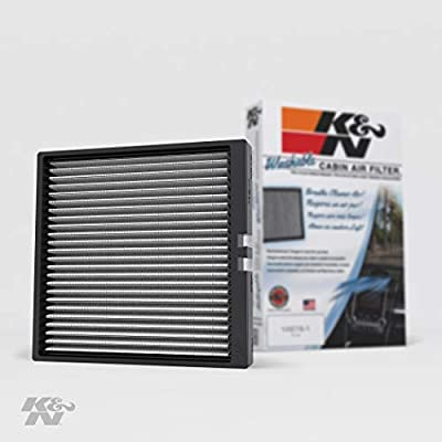 K&N Premium Cabin Air Filter: High Performance, Washable, Lasts for the Life of your Vehicle:  Designed For Select 2014-2020 Chevy/GMC/Cadillac Truck and SUV Models, VF2044: Automotive