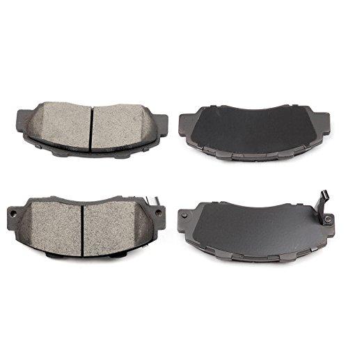SCITOO Ceramic Discs Brake Pads, 4pcs Front Brake Pads Brakes Kits fit Acura CL/Integra/Legend/NSX/RL/TL/Vigor,Honda Accord/CR-V/Odyssey/Prelude,Isuzu Oasis Compatible ATD503C D503-7382